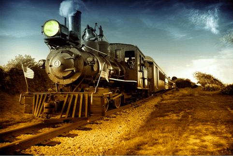 Vadnyugati vonat selfie háttér