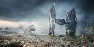 Szelgi gép green box háttér - Star Wars 3